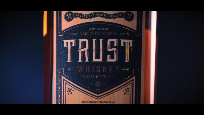 Liberty Distillery: Trust Whiskey